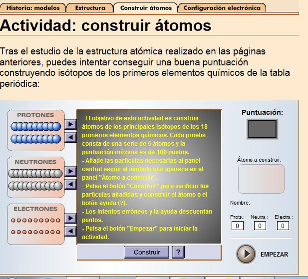 la tabla peridica - Tabla Periodica Y Estructura Atomica