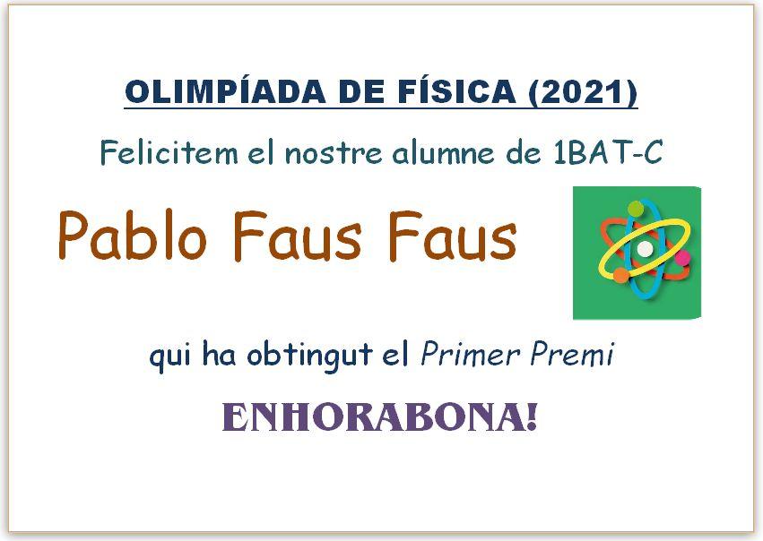 Olimpiada de Física (2021)